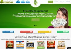 Cash Surfing Network – Trafficexchanges und Paid to Click