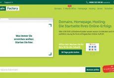 DomainFactory – Domains, Hosting, Server, Mail