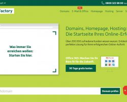 DomainFactory – Domains, Hosting, Server, Mail