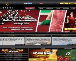 Lopoca – Online Sportwetten, Casino, Poker, Nuggetgame