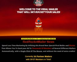 RedRocketMailer – Per Mausklick an viele Partner-Mailer mailen