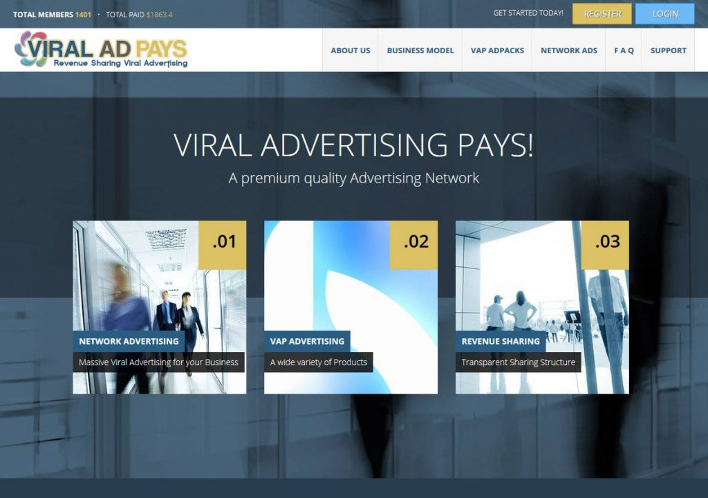 Viral Advertising viraladpays.com