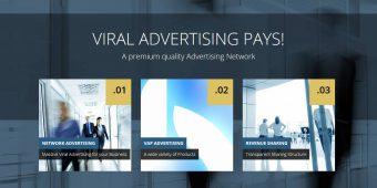 ViralAdPays – Premium Werbenetzwerk