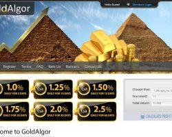 GoldAlgor – bis zu 2,5% am Tag