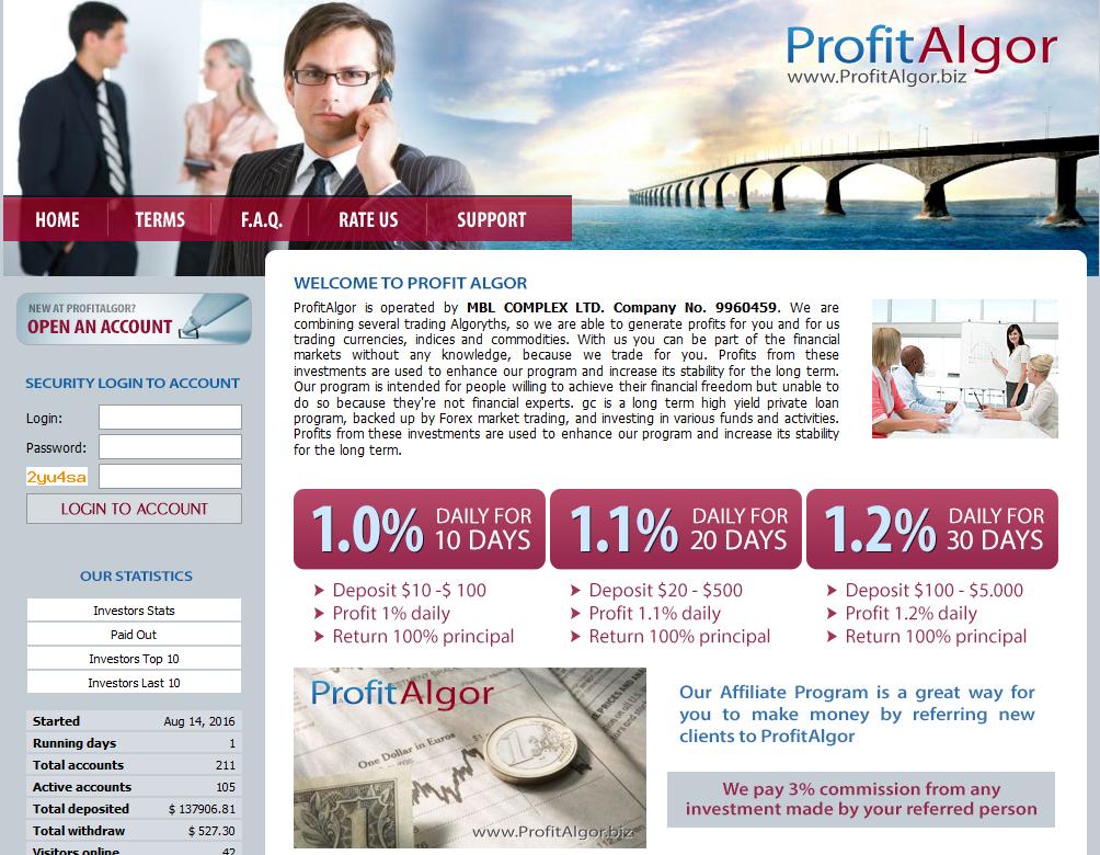 ProfitAlgor - Nachfolger von IntAlgor