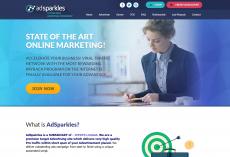 AdSparkles – Werbung mit Revenuesharing von 4% – 8%