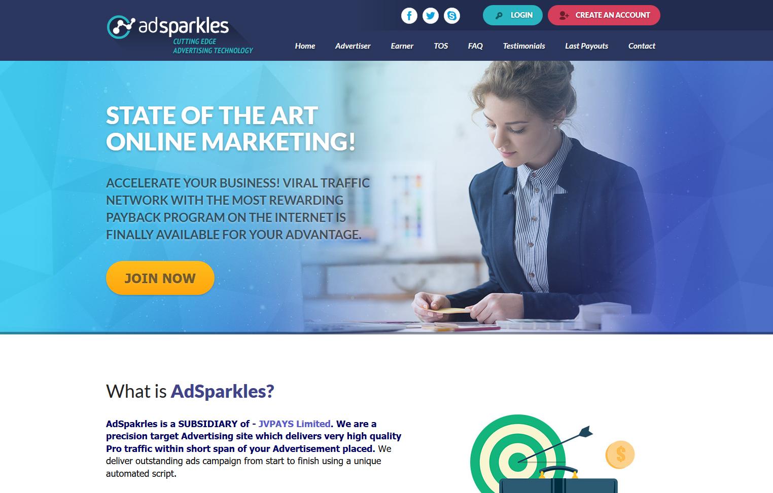 AdSparkles ~Revenuesharing, Revshare